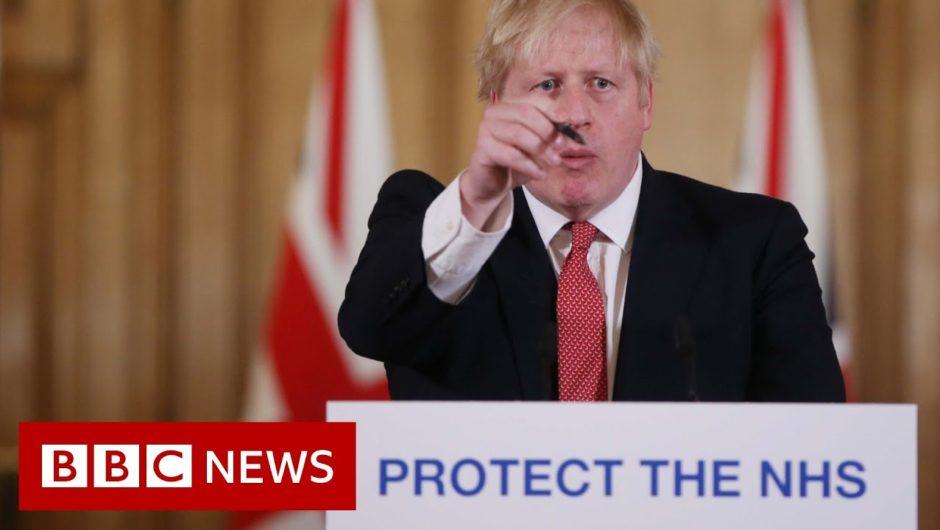 Coronavirus: Take social distancing advice seriously, Boris Johnson tells UK – BBC News
