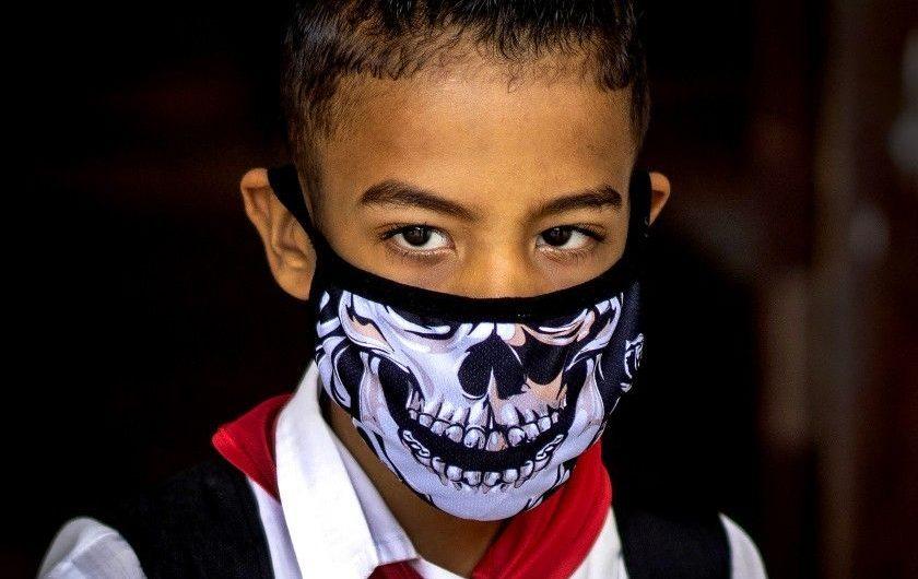 A look at coronavirus masks around the world