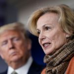 'When He Gets New Information, He Likes To Talk That Through Out Loud,' Dr. Birx Says of Trump's Comments on Ultraviolet Light, Disinfectants as COVID-19 Treatments