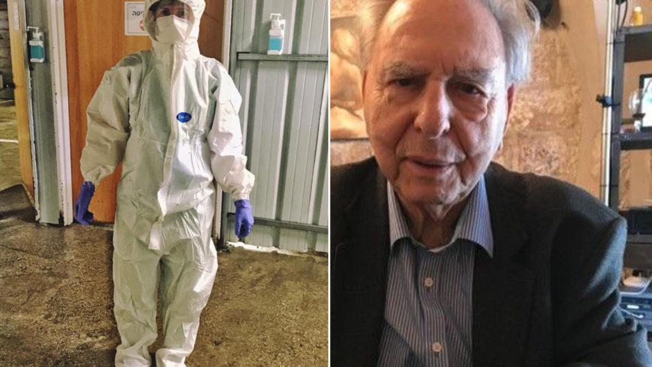 Israeli nurse recounts Holocaust survivor's coronavirus death