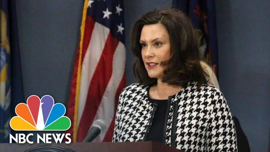 Michigan Gov. Whitmer Gives Update On Coronavirus Response | NBC News