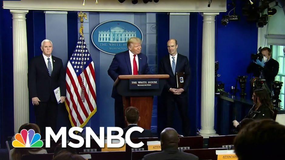 Trump Blames World Health Organization For His Coronavirus Response   The Last Word   MSNBC