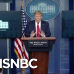 Trump Uses Coronavirus Briefing To Play 'Propaganda' Video Defending Response Time | MSNBC