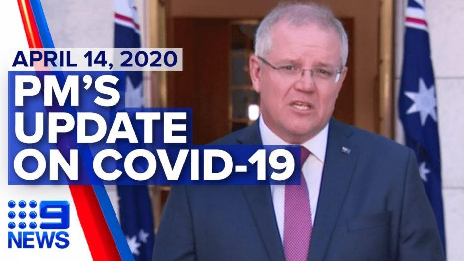 Coronavirus: Scott Morrison interviewed on unemployment, lifting restrictions | Nine News Australia