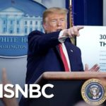 What It's Like Covering Trump During The Coronavirus Pandemic   The 11th Hour   MSNBC