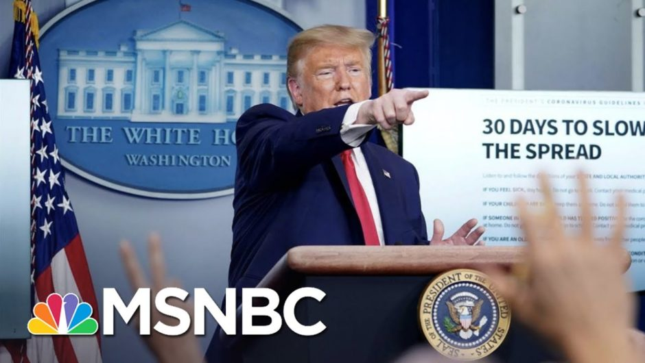 What It's Like Covering Trump During The Coronavirus Pandemic | The 11th Hour | MSNBC