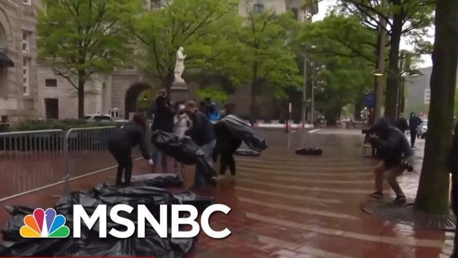 Trump Awareness Of U.S. COVID-19 Death Toll Difficult To Discern   Rachel Maddow   MSNBC