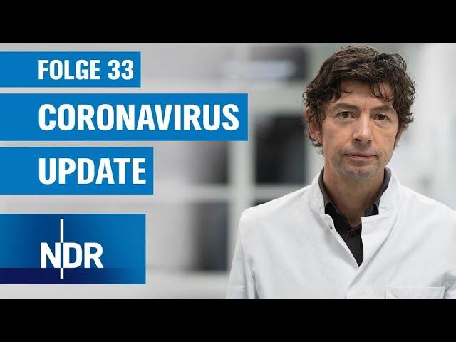 """Coronavirus-Update #33: """"Herdenimmunität noch lange nicht in Sicht""""   NDR Podcast"""