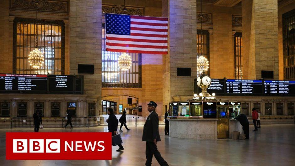 Coronavirus: US death toll passes 2,000 in a single day – BBC News
