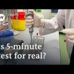 Coronavirus: US lab unveils portable 5-minute Covid-19 test   DW News