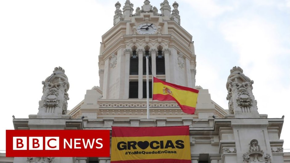 Coronavirus: Spain extended the state of emergency until at least 12 April – BBC News