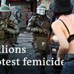Record feminist marches in Latin America protest femicide   DW News