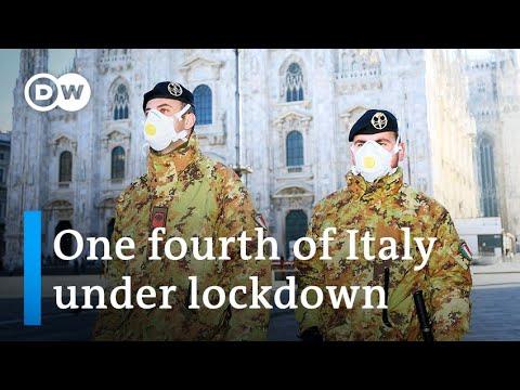 Coronavirus: Italy puts millions under quarantine   DW News