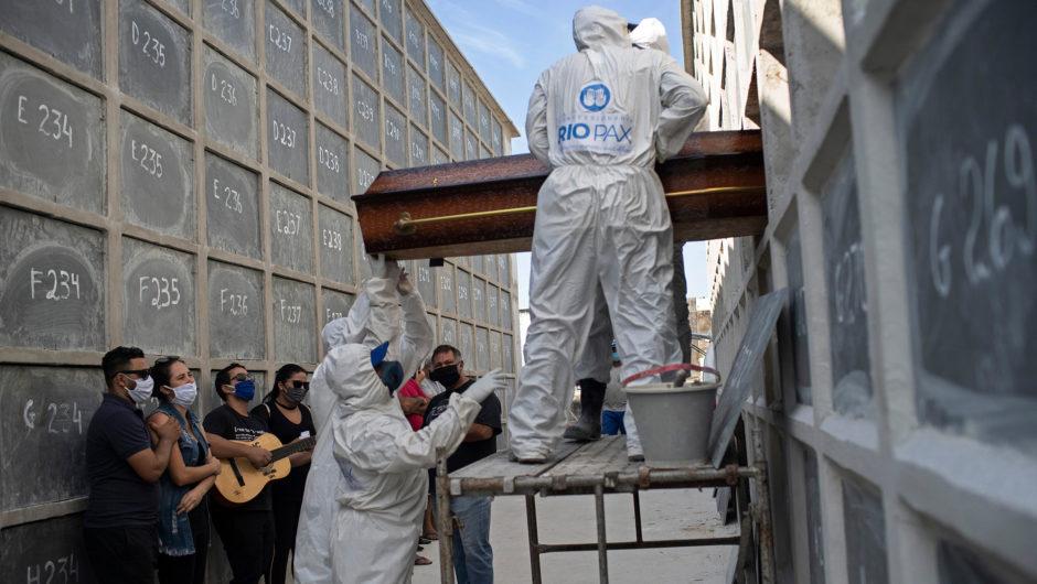 Coronavirus surge in Brazil brings coffin shortage