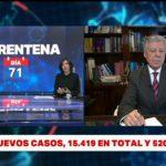 Coronavirus en Argentina: ya son 520 muertos y 15.419 infectados – Telefe Noticias
