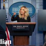Coronavirus: Trump's press secretary Kayleigh McEnany holds briefing – watch live
