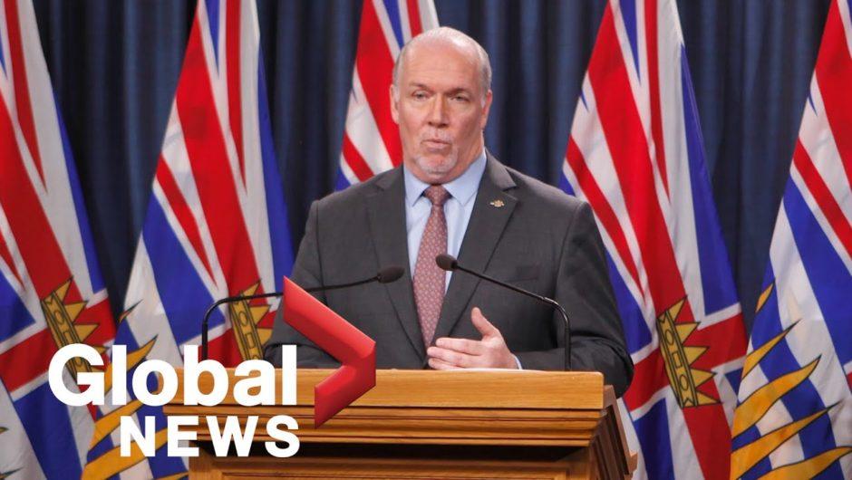 Coronavirus outbreak: B.C. announces plan to start reopening economy in mid-May | FULL