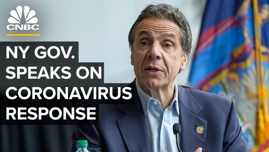 New York Gov. Cuomo holds a briefing on the coronavirus outbreak – 5/8/2020