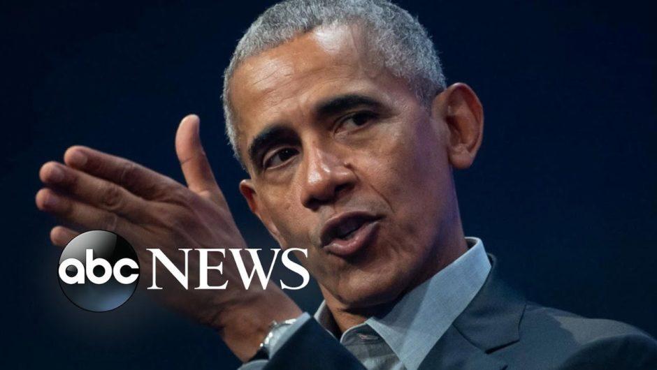 Obama sounds off on COVID-19
