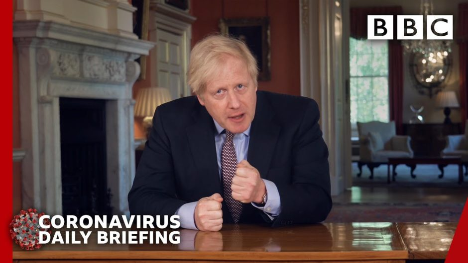 Coronavirus: Boris Johnson updates nation on Covid-19 lockdown 🔴 @BBC News – BBC