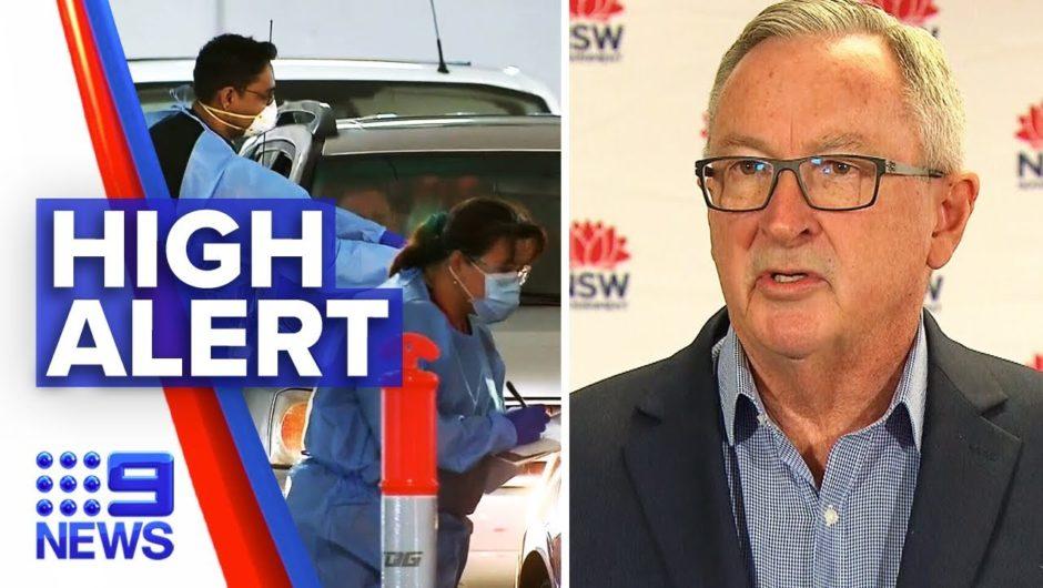 Coronavirus: NSW on high alert after one confirmed case | Nine News Australia