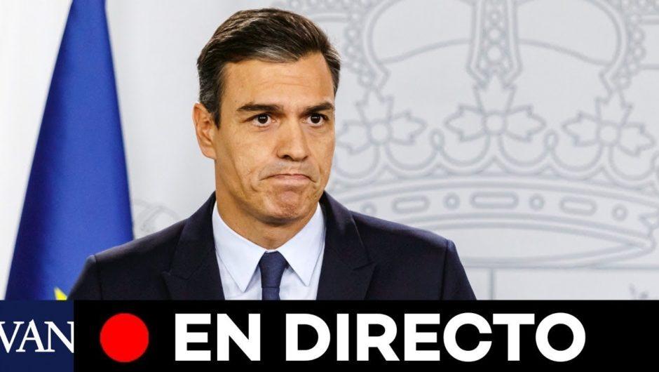 DIRECTO: Pedro Sánchez comparece por la crisis del coronavirus