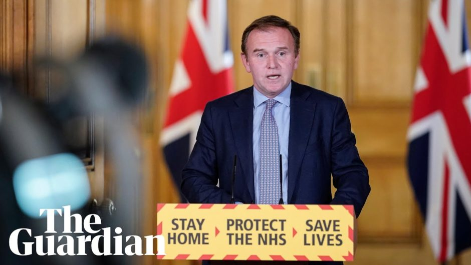 Coronavirus: George Eustice holds daily UK government briefing – watch live