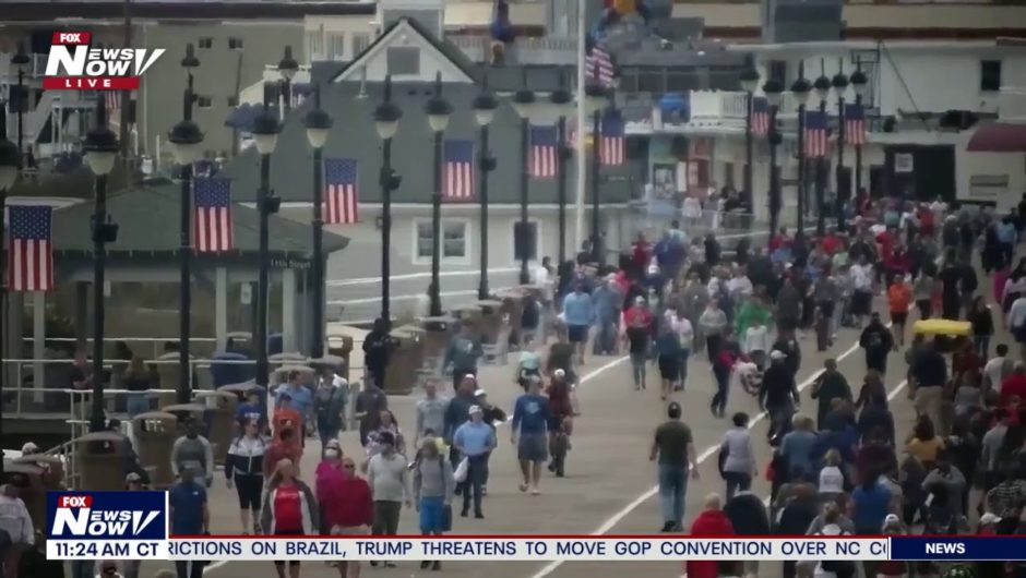 LIVE: President Trump Memorial Day Ceremony, COVID-19 latest news