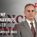 Informe diario por coronavirus en México, 31 de mayo de 2020