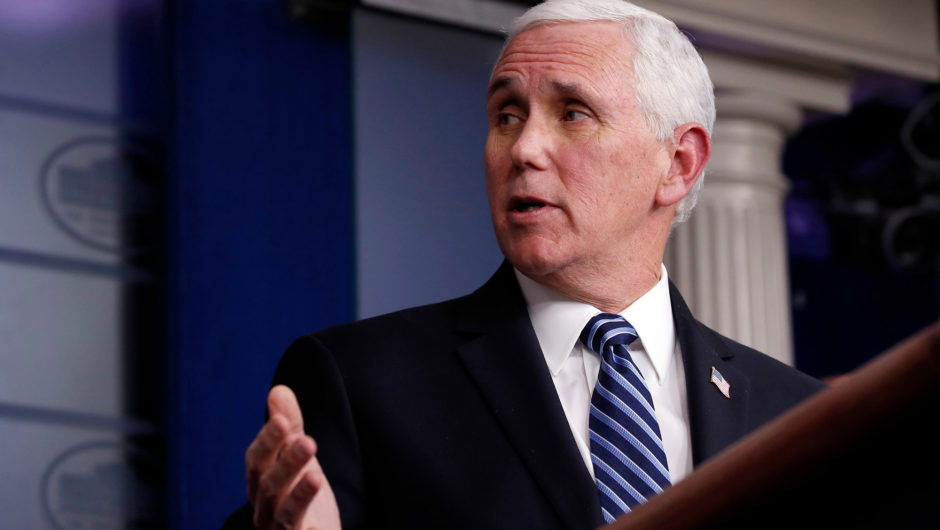 Mike Pence confirms coronavirus task force will wrap up this month