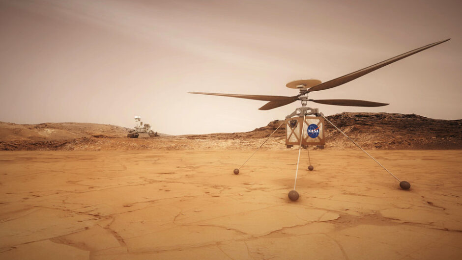 NASA Mars Helicopter Will Be Red Planet's 'Wright Brothers Moment'