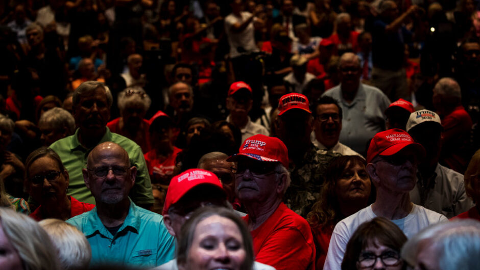 Trump Faces Mounting Defections From a Once-Loyal Group: Older White Voters