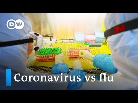 Coronavirus vs flu: Which is more dangerous? | DW News