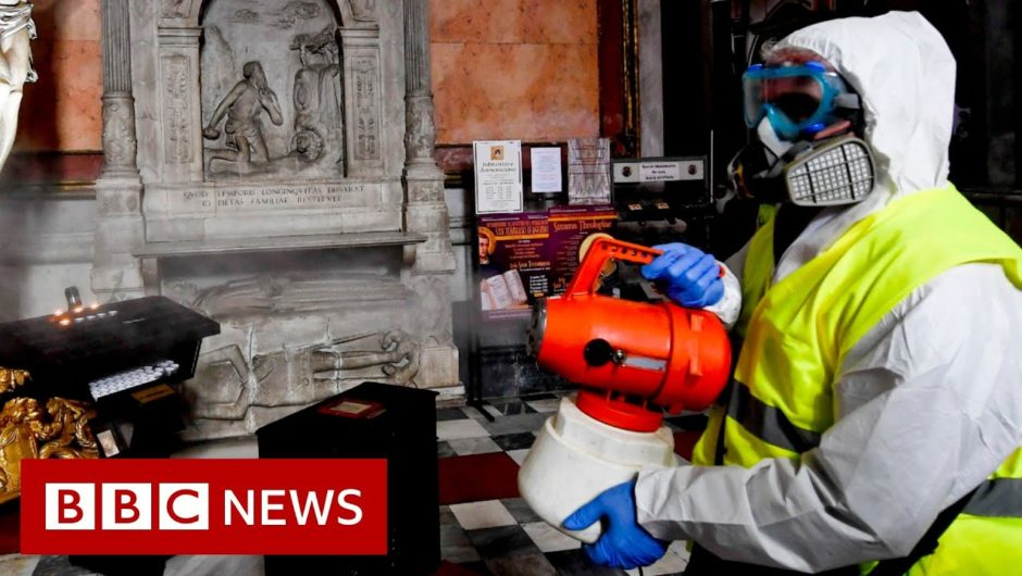 Coronavirus: contain and delay phases Explained – BBC News