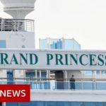 Coronavirus: Cruise ship Grand Princess docks in California – BBC News