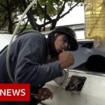 Running on empty: Venezuela fuel crisis hits Covid victims – BBC News