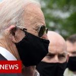 Trump and Biden trade barbs over wearing a mask – BBC News
