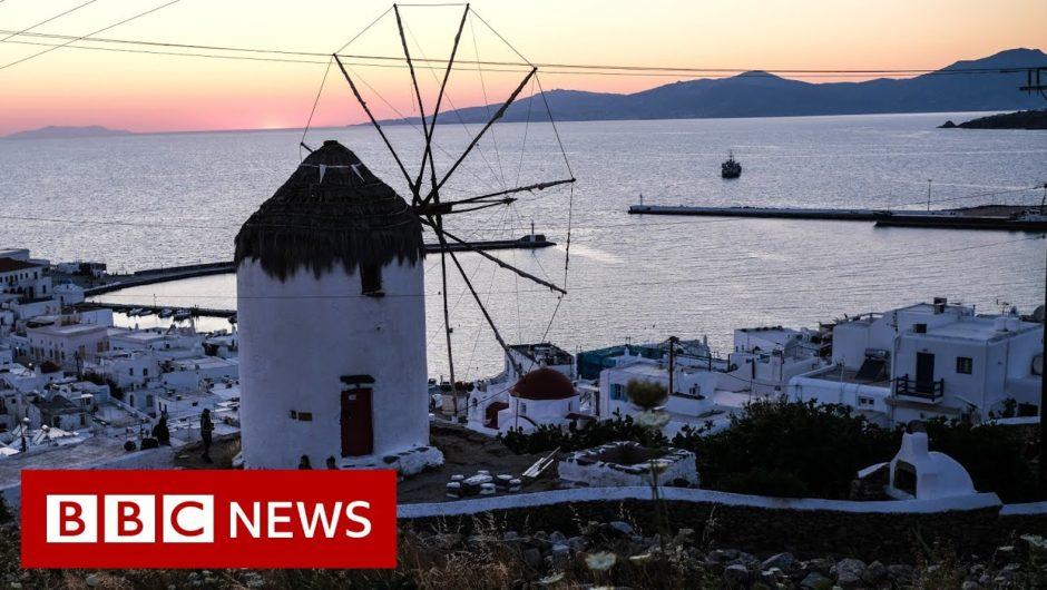 Coronavirus: European countries mull reopening borders – BBC News