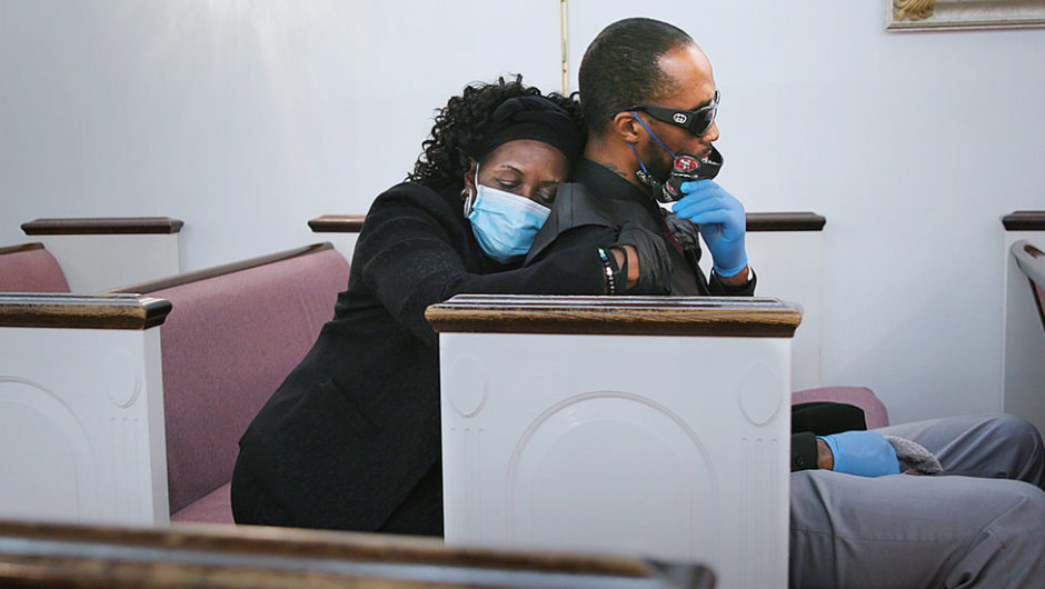 Coronavirus 'Ripped A Hole' In N.Y.C.'s Black Community. This Funeral Director Knows.