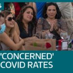 Some Spaniards 'slightly concerned' by UK Covid-19 rates as tourists return | ITV News
