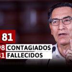 Coronavirus en el Perú: Mensaje de Vizcarra en el día 81 del estado de emergencia