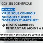Coronavirus : le conseil scientifique envisage 4 scénarios pour la suite de l'épidémie