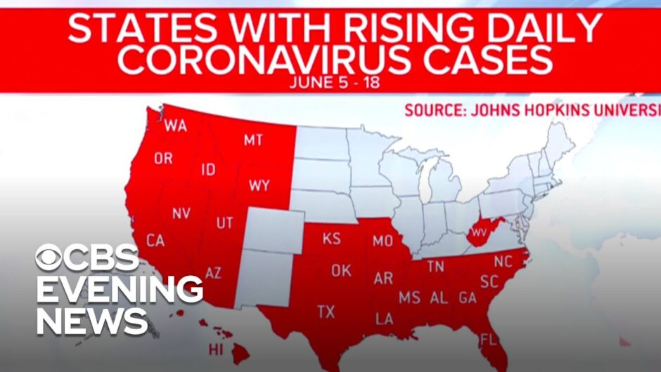 Many states continue to face record highs in coronavirus cases