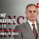 Informe diario por coronavirus en México, 02 de junio de 2020
