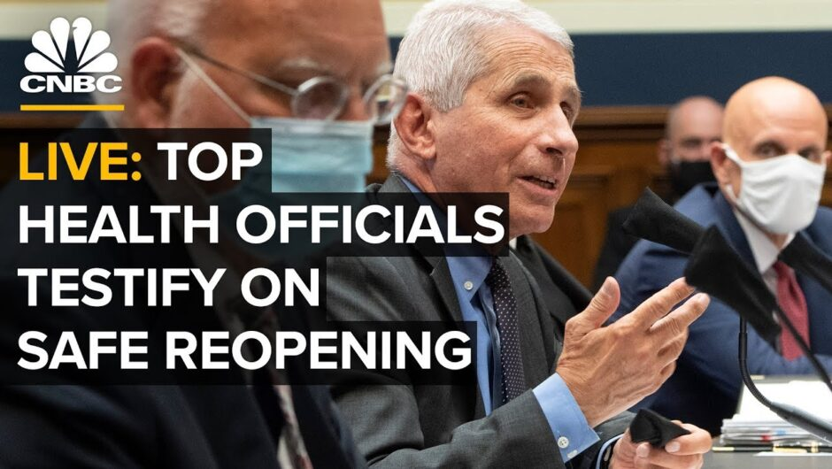 WATCH LIVE: Top health officials testify on safe reopening amid Covid-19 pandemic — 6/30/2020