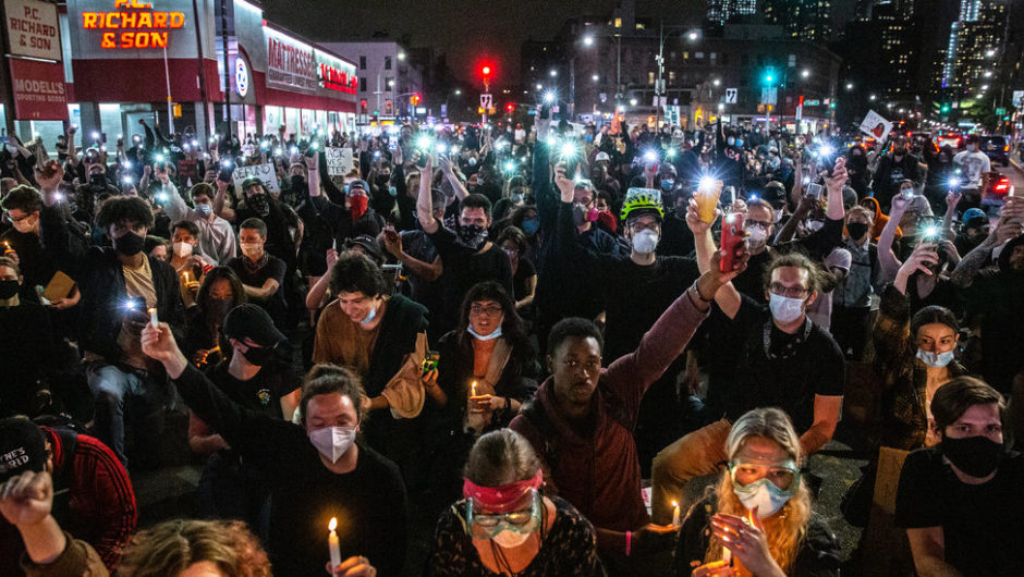 N.Y.C. Sees Peaceful Protests and Less Looting After Earlier Curfew: Live Updates