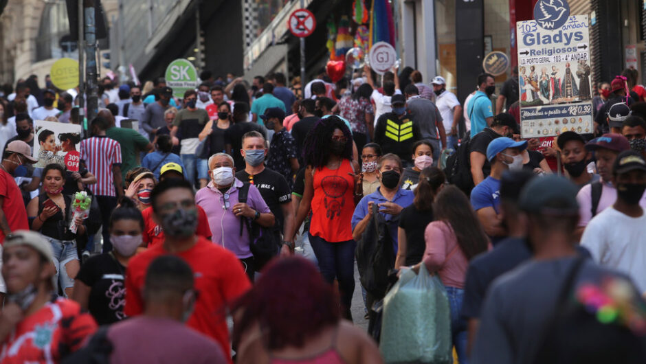 Brazil Passes 1 Million Coronavirus Cases, Adding 54,000 in a Day