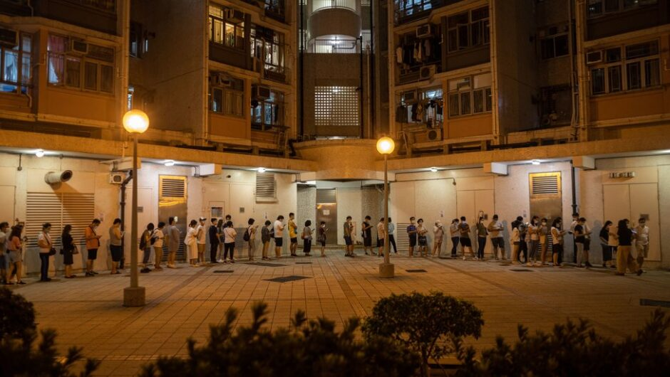 Hong Kong Oppositions Protesters Defy Security Law Threats in Primary Election