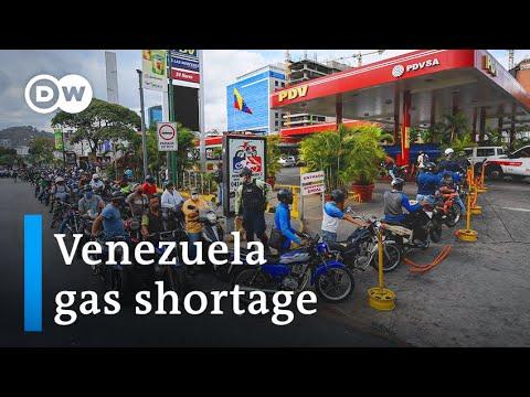 Venezuela gas shortage makes quarantine unavoidable | DW News