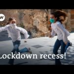 Spain lets kids out to play after 6 weeks of coronavirus lockdown | DW News